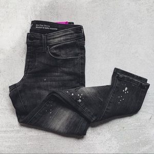 MOSSIMO • NWT black mid-rise skinny jeans